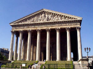 Quelques monuments de paris - Monument la madeleine ...